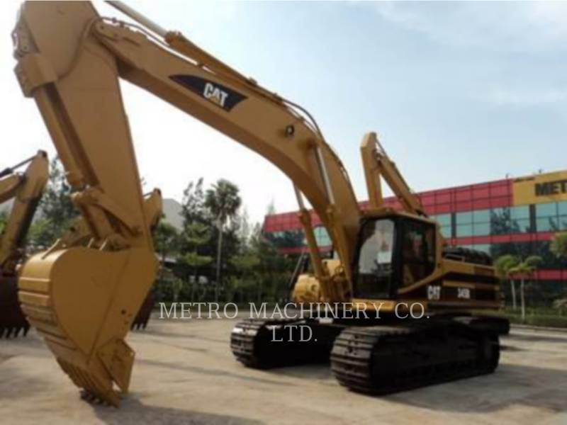 CATERPILLAR EXCAVADORAS DE CADENAS 345B equipment  photo 4