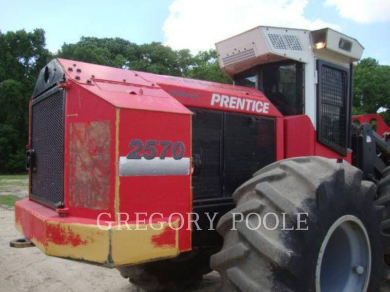PRENTICE FORESTRY - FELLER BUNCHERS - WHEEL 2570 equipment  photo 9