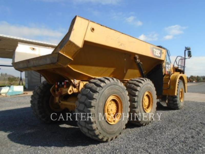 CATERPILLAR KNICKGELENKTE MULDENKIPPER 735C equipment  photo 3