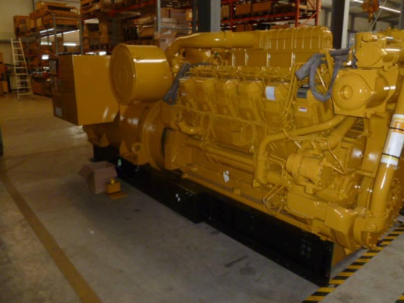 CATERPILLAR 固定式発電装置 3512B HD HV11KV equipment  photo 1