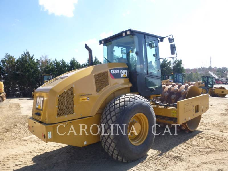 CATERPILLAR VIBRATORY SINGLE DRUM SMOOTH CS64B equipment  photo 3