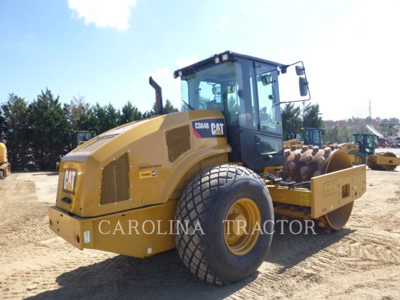 CATERPILLAR ROLETES DO TANDEM VIBRATÓRIO CS64B CB equipment  photo 3
