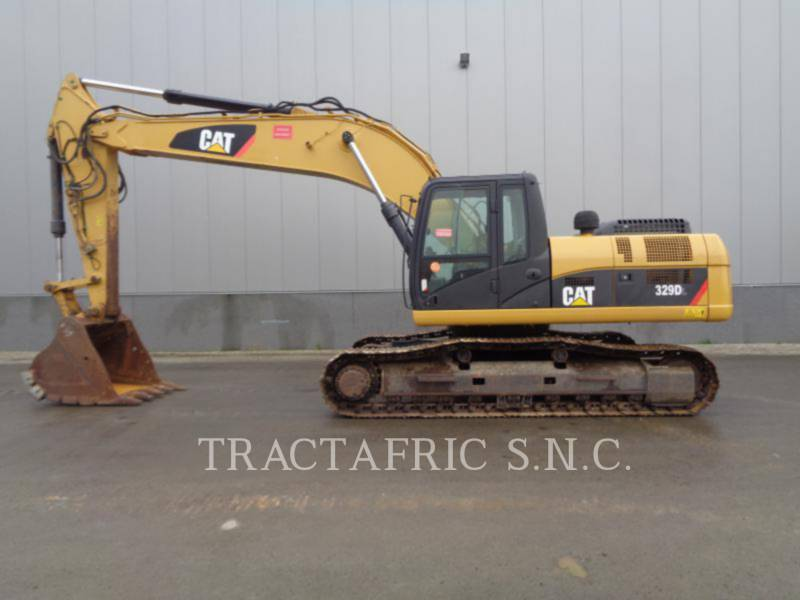 CATERPILLAR KETTEN-HYDRAULIKBAGGER 329DL equipment  photo 3