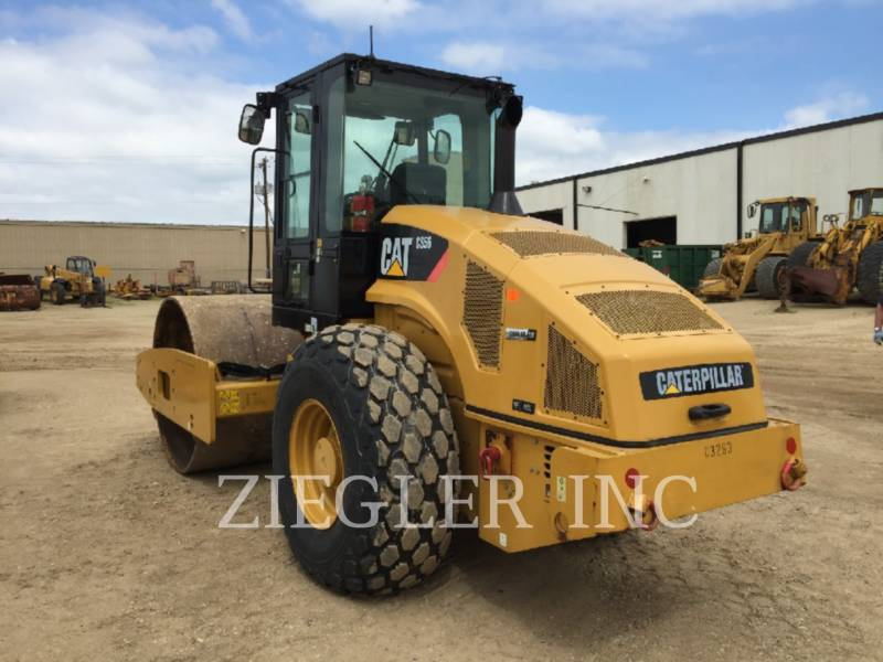 CATERPILLAR COMPATTATORE A SINGOLO TAMBURO VIBRANTE LISCIO CS56 equipment  photo 2