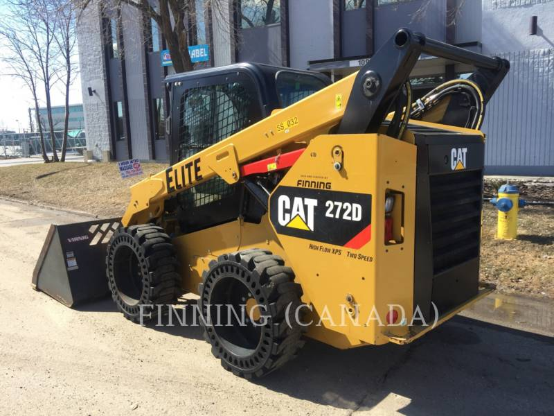 CATERPILLAR PALE COMPATTE SKID STEER 272D equipment  photo 3