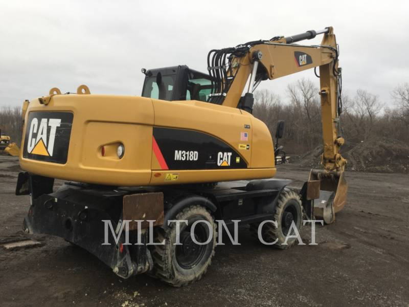 Caterpillar EXCAVATOARE PE ROŢI M318D equipment  photo 2