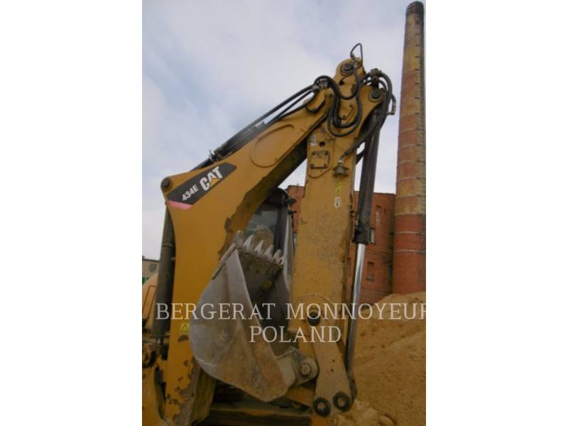 CATERPILLAR RETROEXCAVADORAS CARGADORAS 434E equipment  photo 10