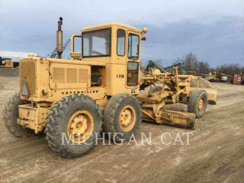 CATERPILLAR NIVELEUSES 120 equipment  photo 3