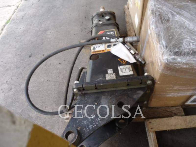 CAT ATTACHMENTS  HAMMER H70 equipment  photo 5