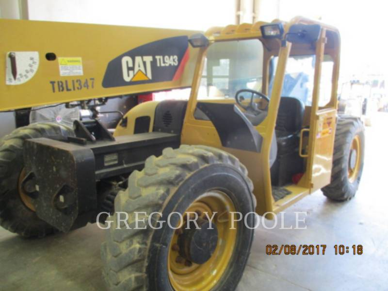 CATERPILLAR TELEHANDLER TL943 equipment  photo 1
