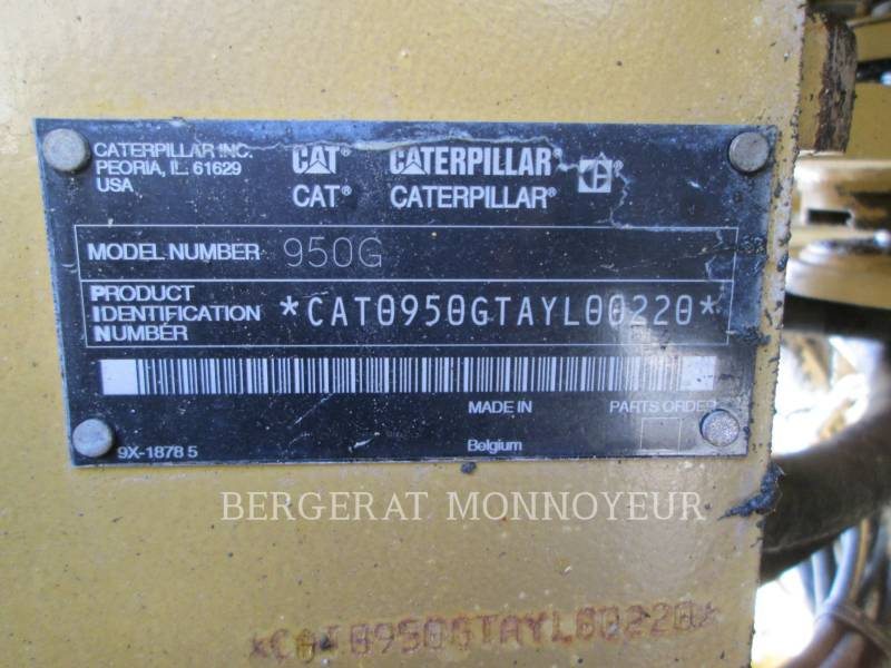 CATERPILLAR CARGADORES DE RUEDAS 950G equipment  photo 13