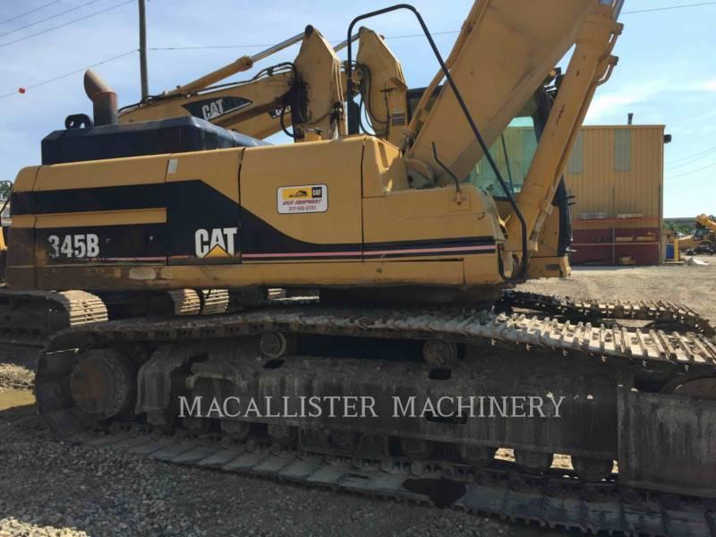 CATERPILLAR TRACK EXCAVATORS 345BIIL equipment  photo 7