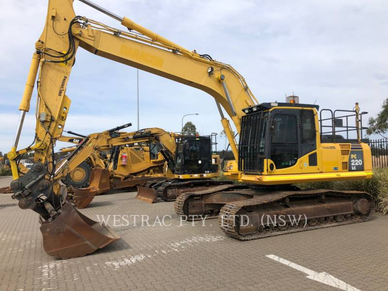 KOMATSU SHOVEL / GRAAFMACHINE MIJNBOUW PC220 equipment  photo 1
