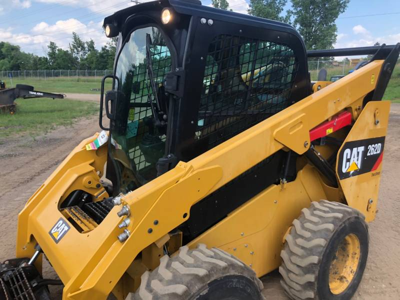 CATERPILLAR SCHRANKLADERS 262 D equipment  photo 6