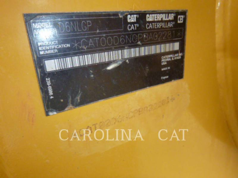 CATERPILLAR TRACK TYPE TRACTORS D6N LGP equipment  photo 8