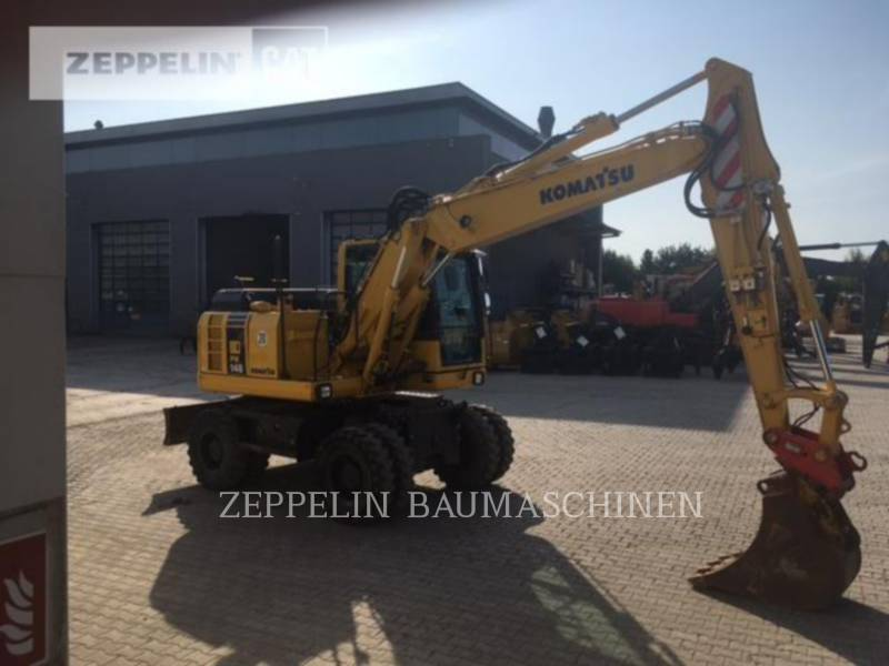 KOMATSU LTD. PELLES SUR PNEUS PW148-8 equipment  photo 5