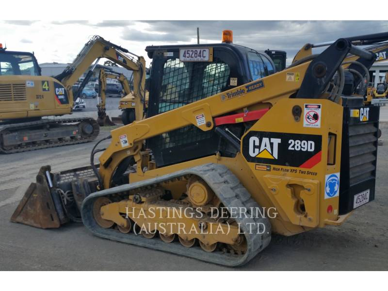 CATERPILLAR DELTALADER 289DLRC equipment  photo 1