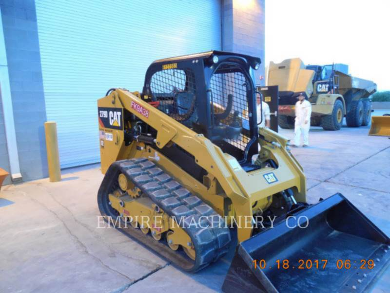 CATERPILLAR KOMPAKTLADER 279D equipment  photo 1