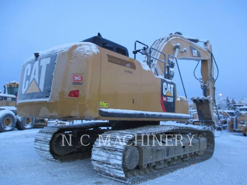 CATERPILLAR ESCAVATORI CINGOLATI 336FL equipment  photo 3