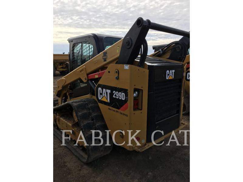 CATERPILLAR MULTI TERRAIN LOADERS 299D C3H3 equipment  photo 3