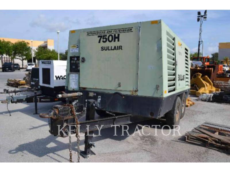 SULLAIR AIR COMPRESSOR 750HAFDTQ equipment  photo 2