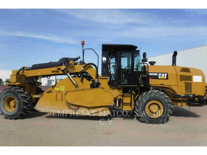 CATERPILLAR ESTABILIZADORES / RECUPERADORES DE CAMINOS RM500B equipment  photo 5