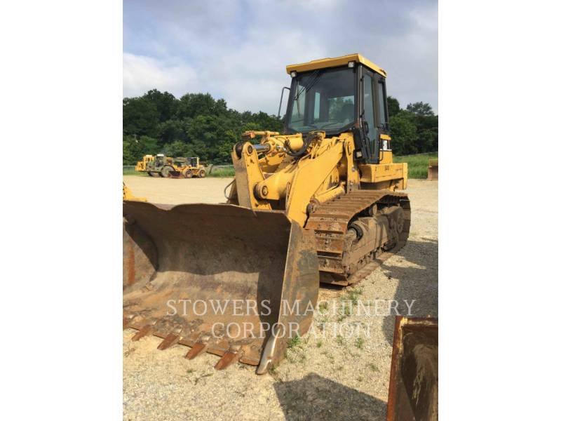 CATERPILLAR TRACK LOADERS 963C equipment  photo 1