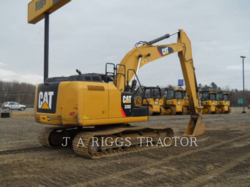 CATERPILLAR KOPARKI GĄSIENICOWE 320E 12 equipment  photo 5