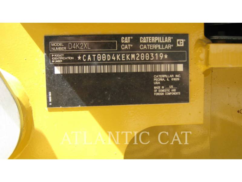 CATERPILLAR TRACTOR DE CADENAS PARA MINERÍA D 4 K 2 XL equipment  photo 4