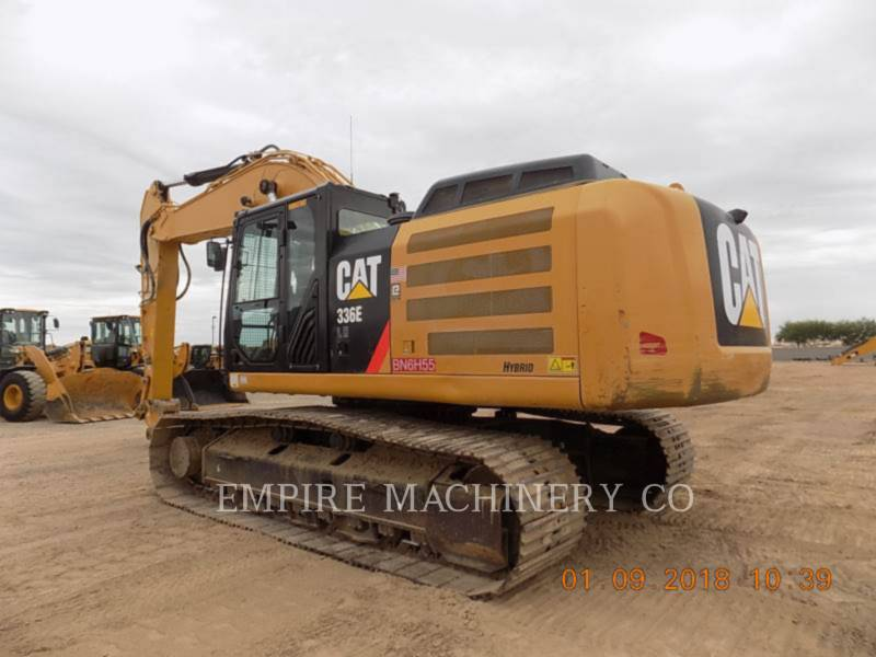 CATERPILLAR PELLES SUR CHAINES 336ELHYB P equipment  photo 3