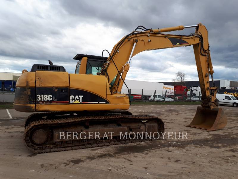 CATERPILLAR TRACK EXCAVATORS 318C equipment  photo 5