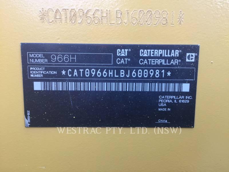 CATERPILLAR CARGADORES DE RUEDAS 966H equipment  photo 8