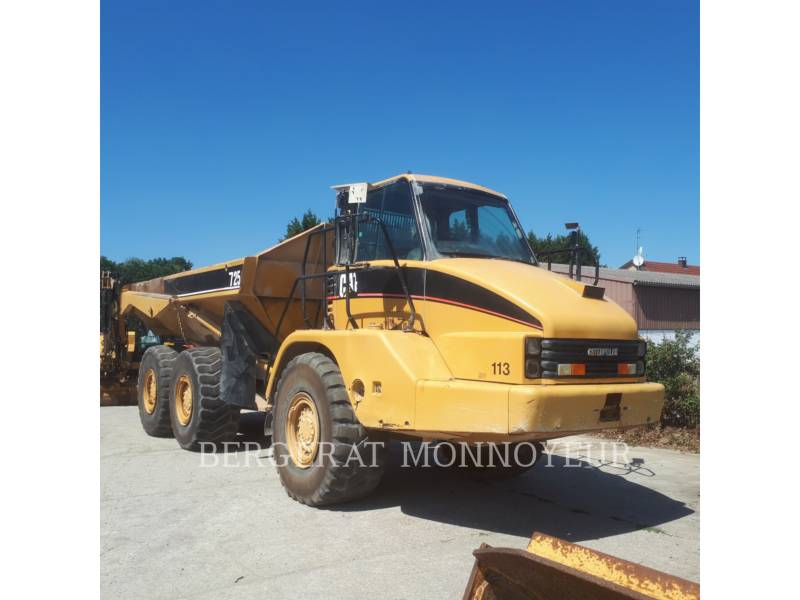 CATERPILLAR ARTICULATED TRUCKS 725 equipment  photo 1