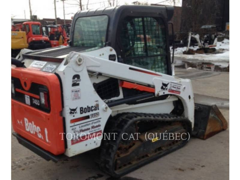 BOBCAT SKID STEER LOADERS T450 equipment  photo 9