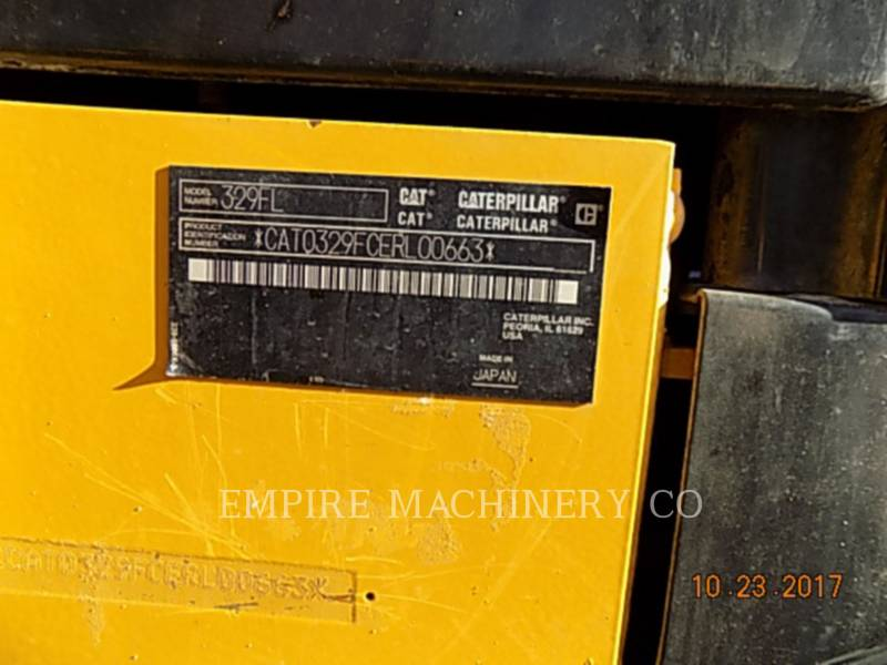 CATERPILLAR KETTEN-HYDRAULIKBAGGER 329FL equipment  photo 16