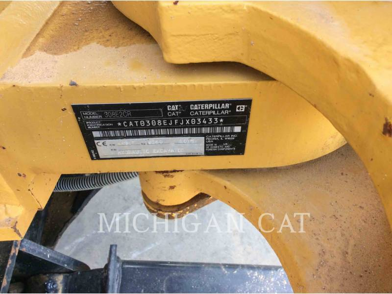 Caterpillar EXCAVATOARE PE ŞENILE 308E2 RBQ equipment  photo 21