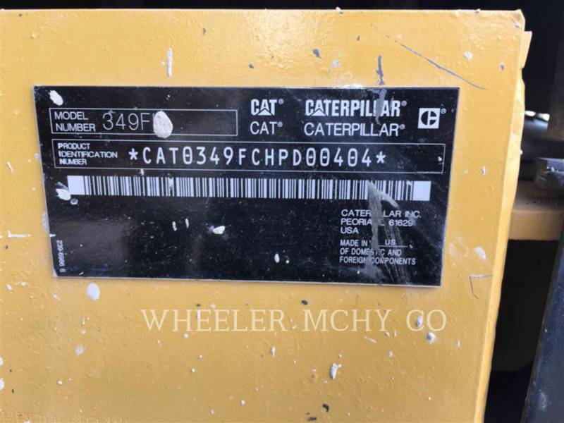 CATERPILLAR EXCAVADORAS DE CADENAS 349F L THM equipment  photo 12