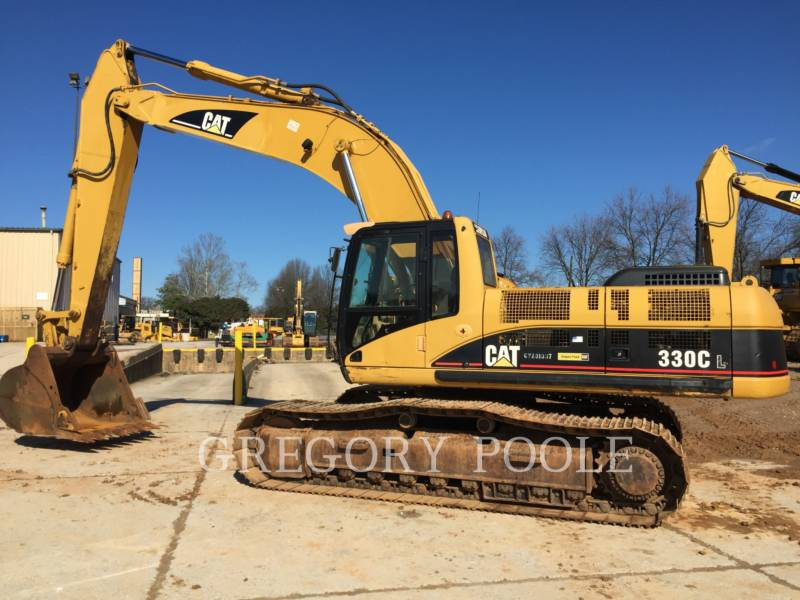 CATERPILLAR TRACK EXCAVATORS 330C L equipment  photo 10