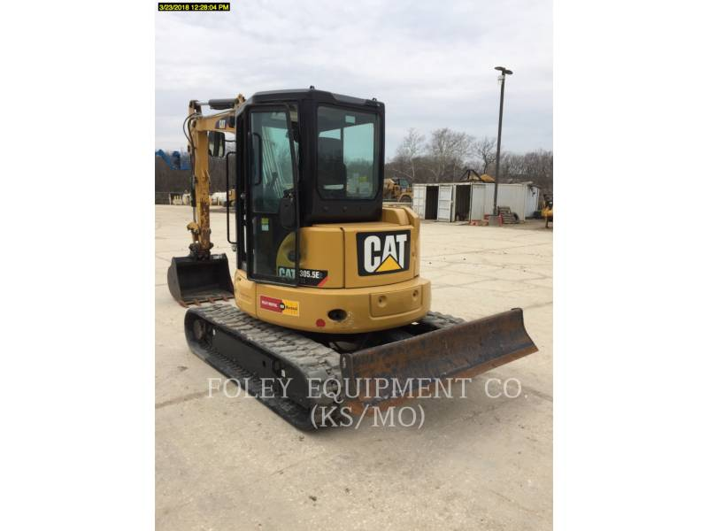 CATERPILLAR TRACK EXCAVATORS 305.5E2LC equipment  photo 3