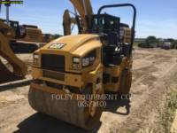 CATERPILLAR TANDEMOWY WALEC WIBRACYJNY DO ASFALTU (STAL-STAL) CB34B equipment  photo 2