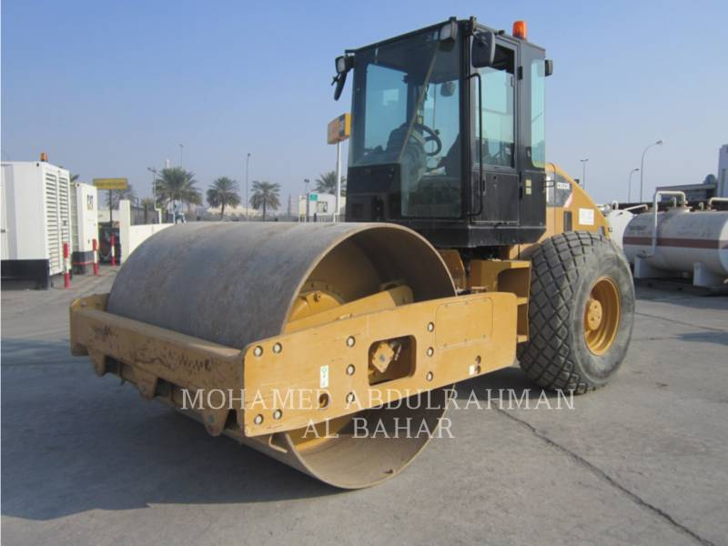 CATERPILLAR VIBRATORY SINGLE DRUM SMOOTH CS 533 E equipment  photo 1