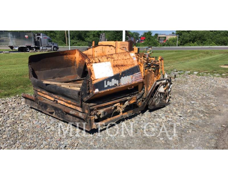 LEE-BOY ASPHALT PAVERS L8000 equipment  photo 1