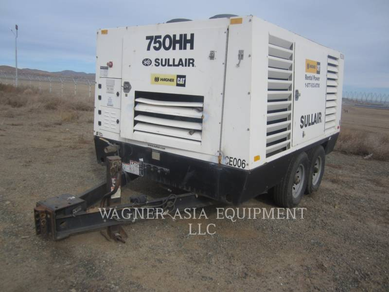 SULLAIR COMPRESOR DE AIRE 750HH equipment  photo 2