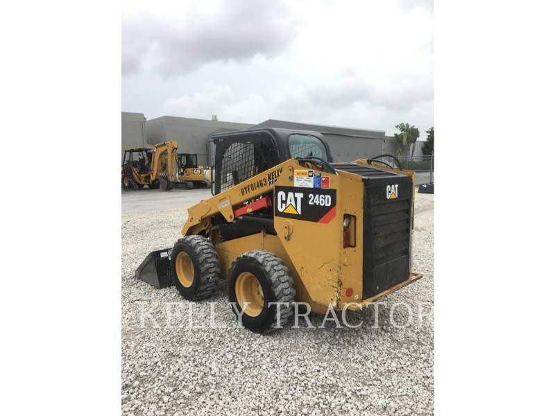 CATERPILLAR SKID STEER LOADERS 246D equipment  photo 3