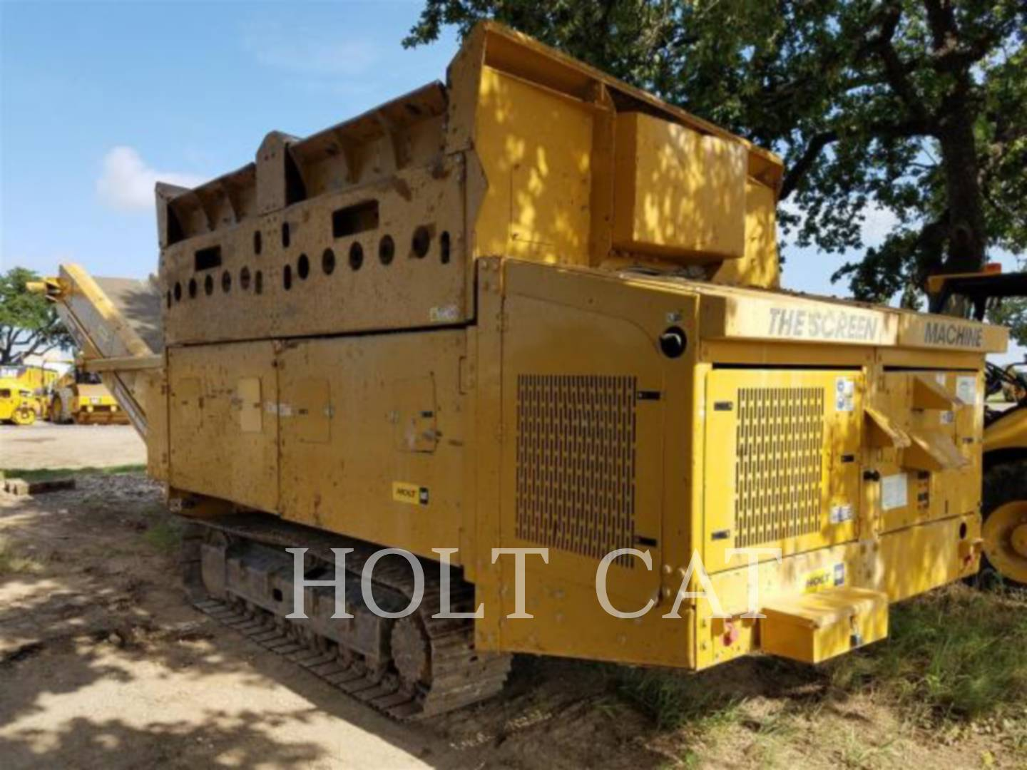 Detail photo of 2011 Screen Machine 107T from Construction Equipment Guide