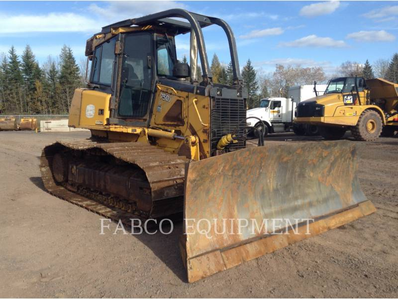 JOHN DEERE TRATORES DE ESTEIRAS 750 J equipment  photo 2
