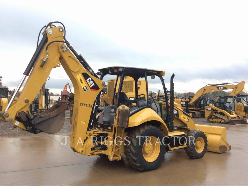 CATERPILLAR CHARGEUSES-PELLETEUSES 420F 4H equipment  photo 6