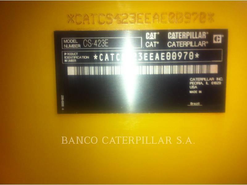CATERPILLAR COMPACTADORES DE SUELOS CS-423E equipment  photo 17