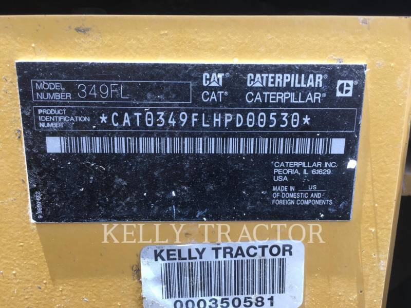 CATERPILLAR KETTEN-HYDRAULIKBAGGER 349FL equipment  photo 20