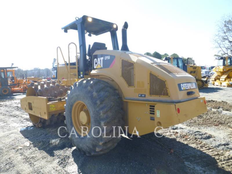 CATERPILLAR EINZELVIBRATIONSWALZE, BANDAGE CP56 equipment  photo 6